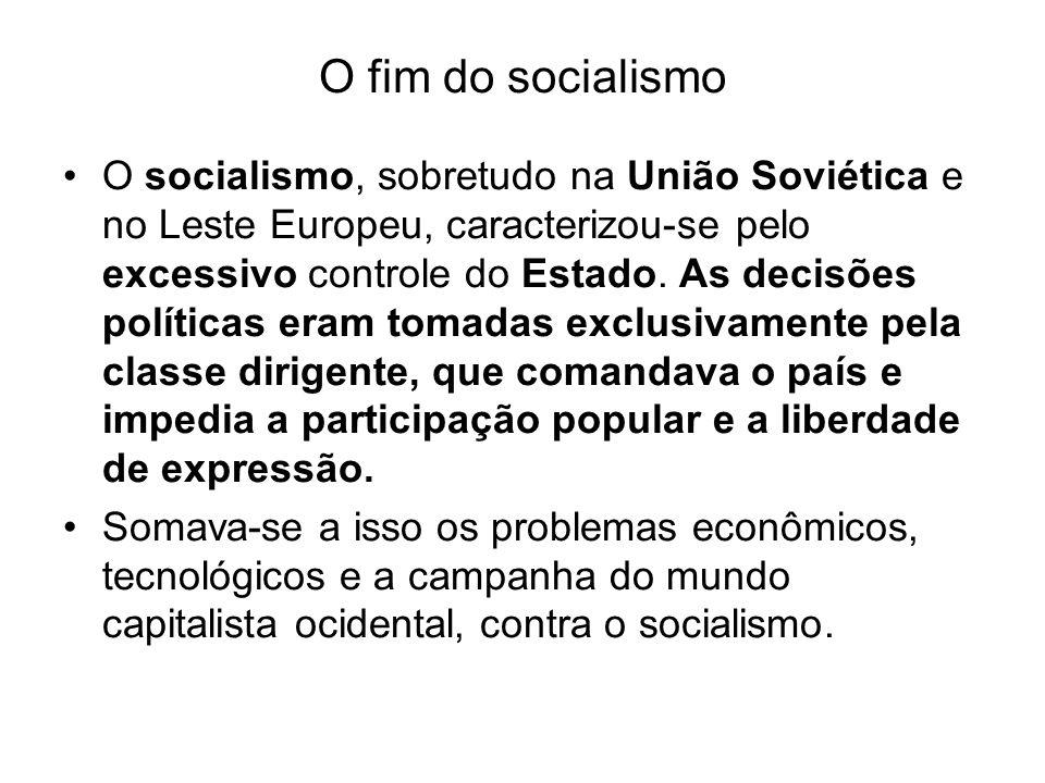 O fim do socialismo