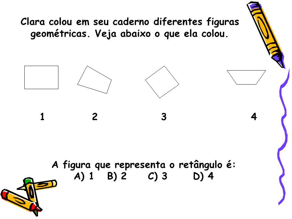 A figura que representa o retângulo é: