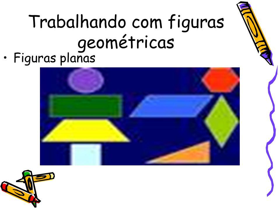 Trabalhando com figuras geométricas