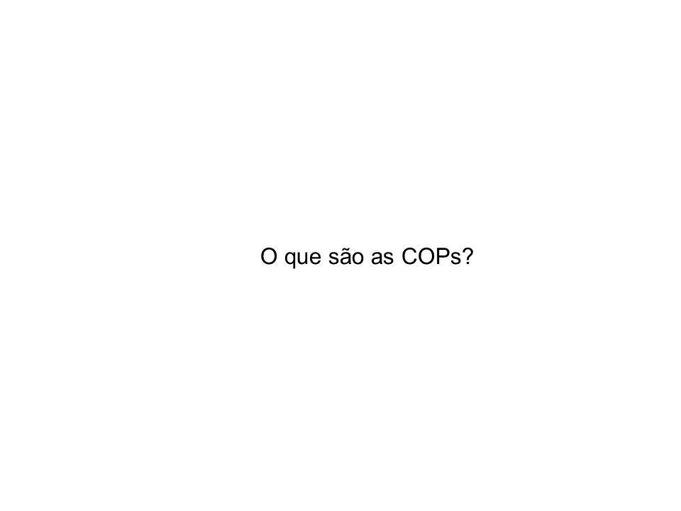 O que são as COPs