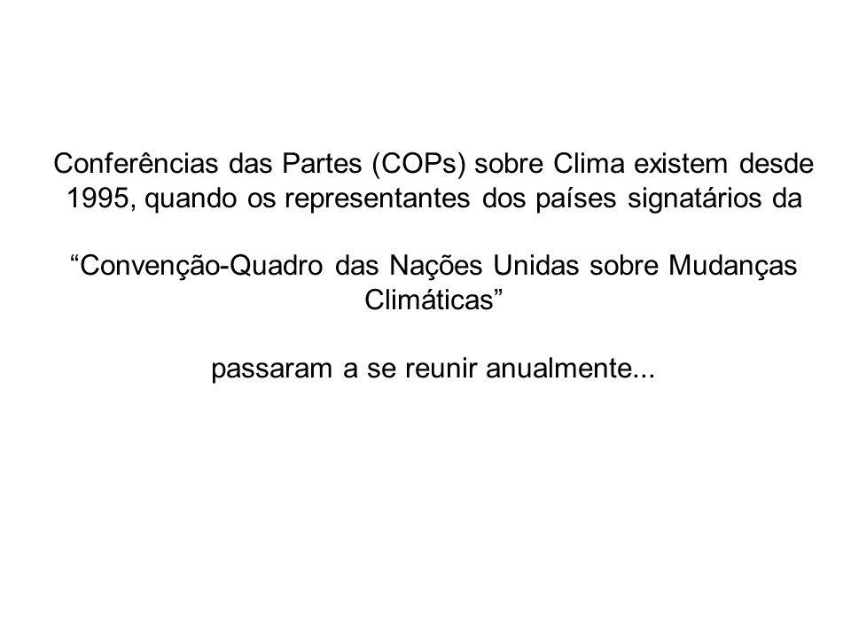 Convenção-Quadro das Nações Unidas sobre Mudanças Climáticas