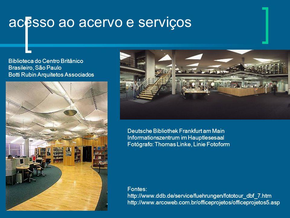acesso ao acervo e serviços Biblioteca do Centro Britânico Brasileiro, São Paulo Botti Rubin Arquitetos Associados