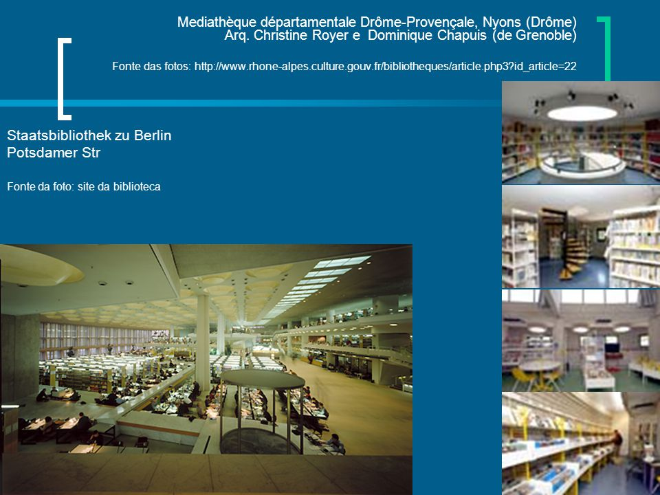 Staatsbibliothek zu Berlin Potsdamer Str