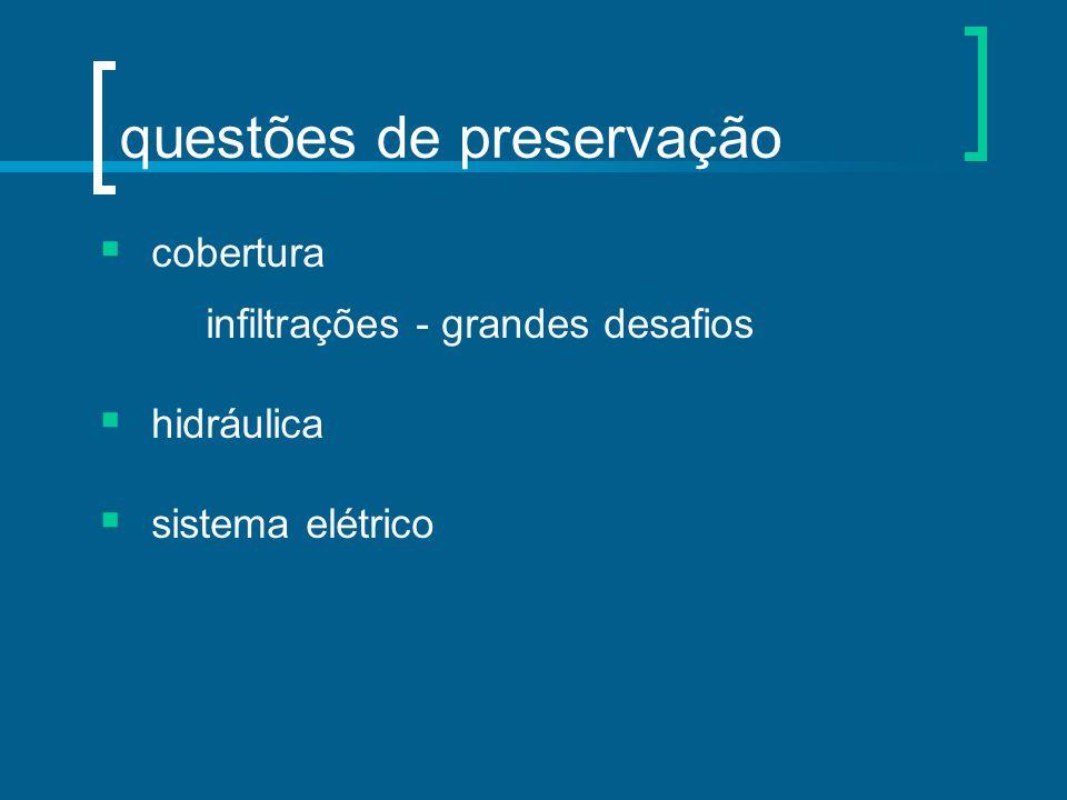questões de preservação