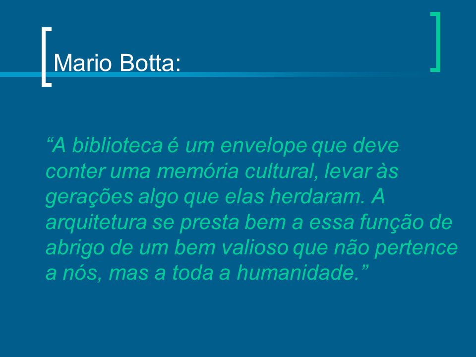 Mario Botta: