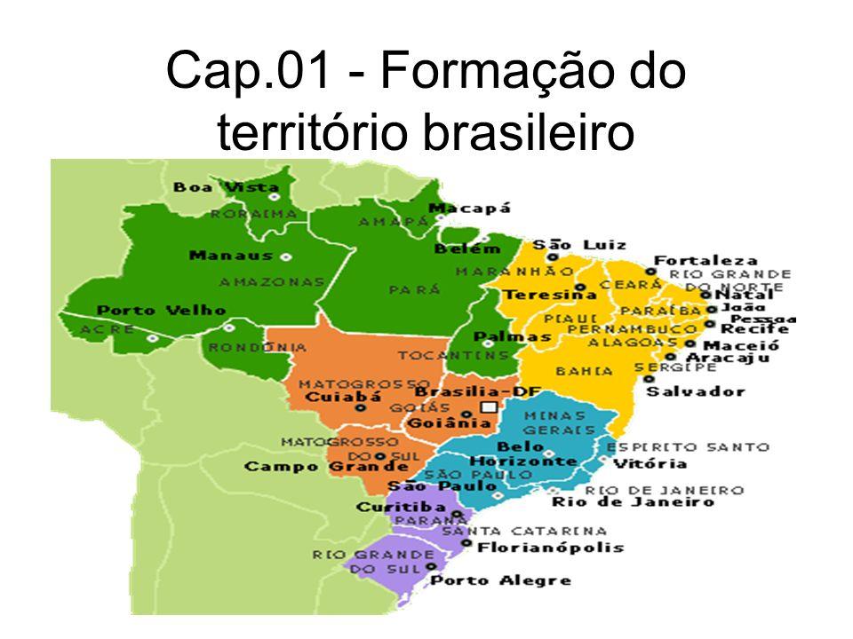 Cap.01 - Formação do território brasileiro