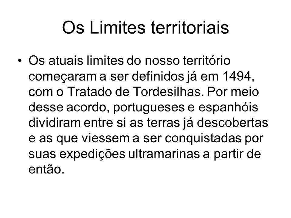 Os Limites territoriais
