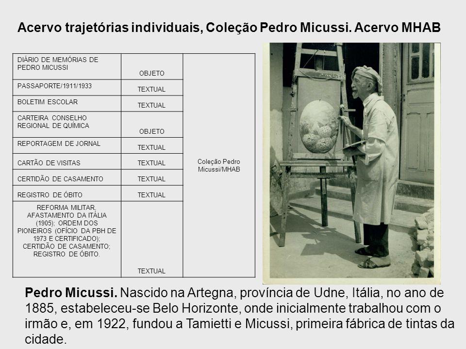 Coleção Pedro Micussi/MHAB
