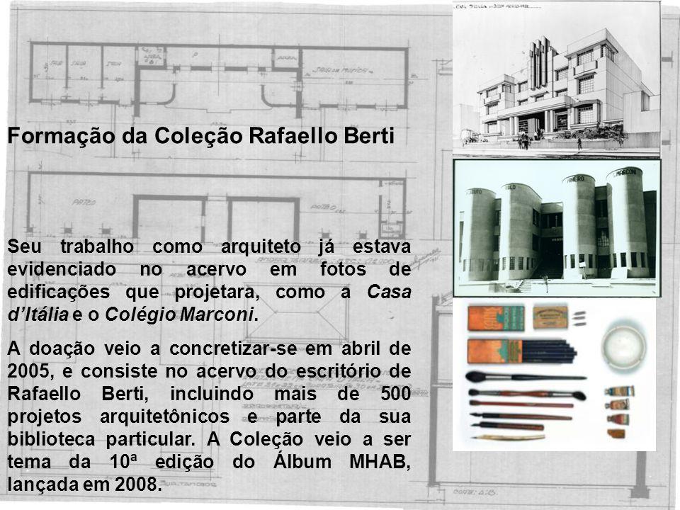 Formação da Coleção Rafaello Berti