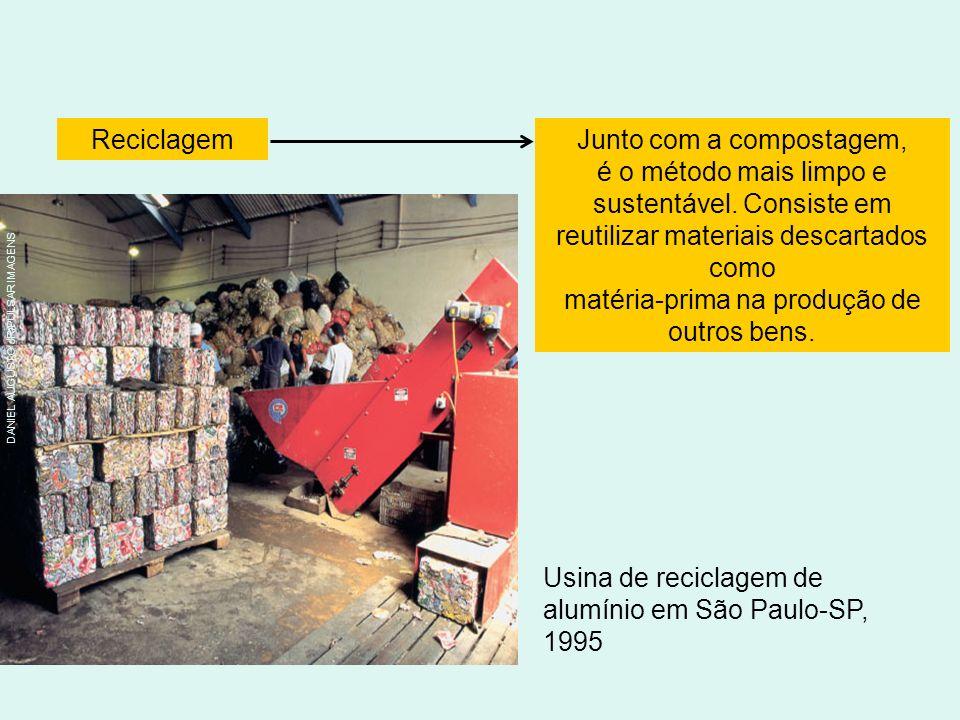 Usina de reciclagem de alumínio em São Paulo-SP, 1995