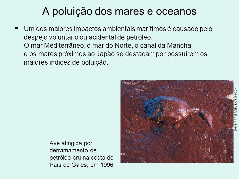 A poluição dos mares e oceanos