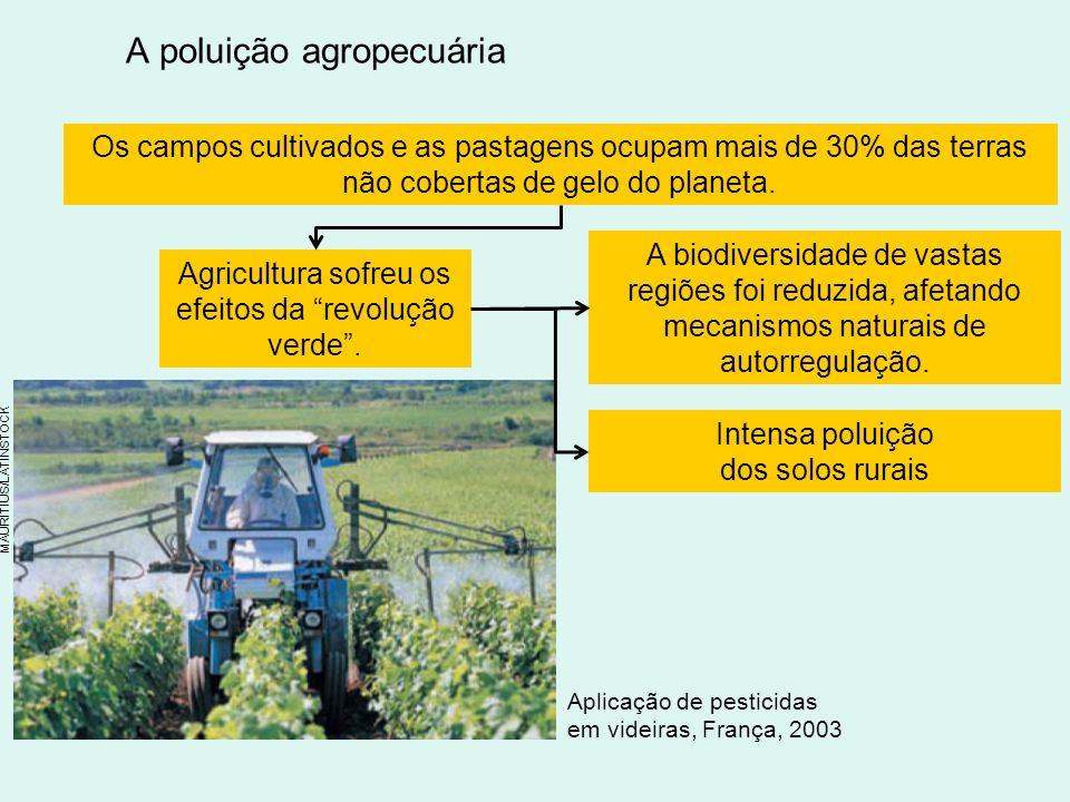A poluição agropecuária