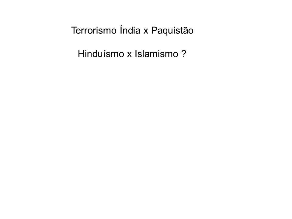 Terrorismo Índia x Paquistão