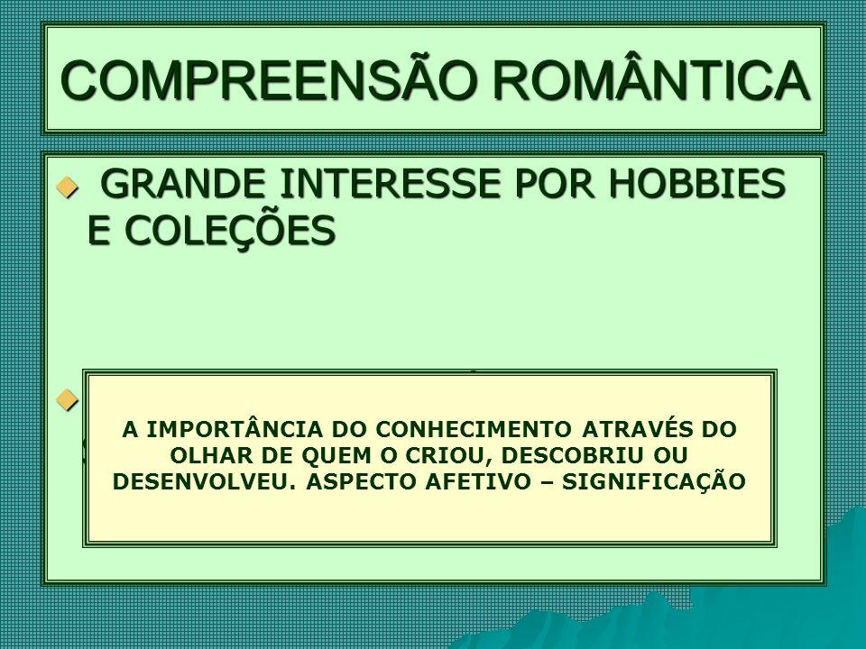 COMPREENSÃO ROMÂNTICA
