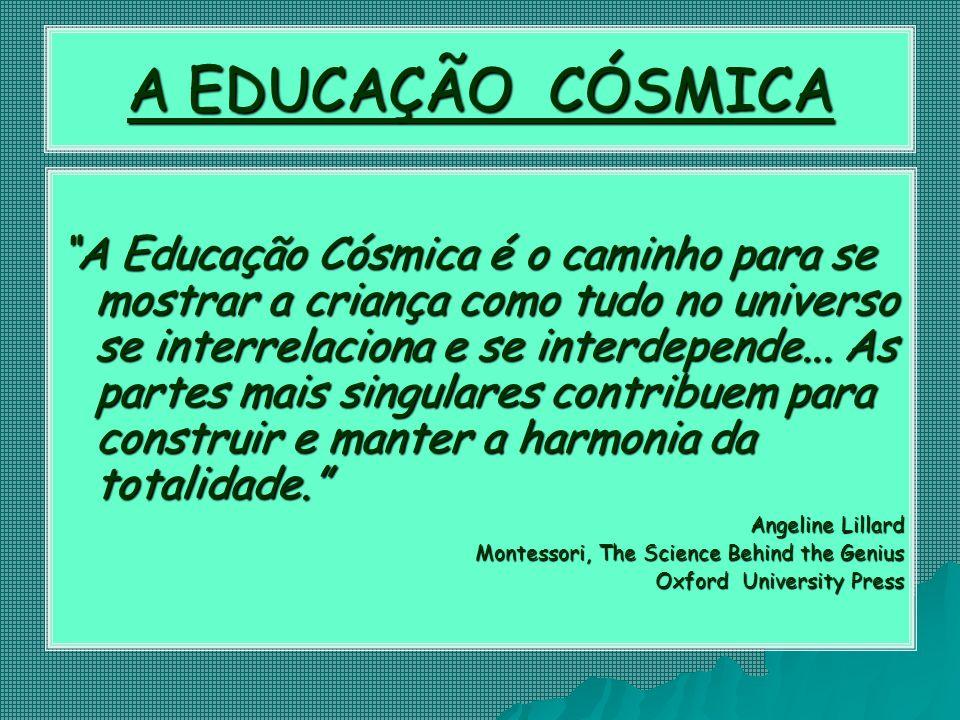 A EDUCAÇÃO CÓSMICA