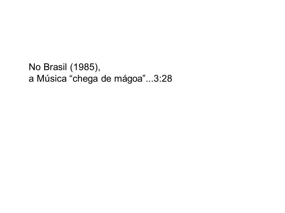 No Brasil (1985), a Música chega de mágoa ...3:28