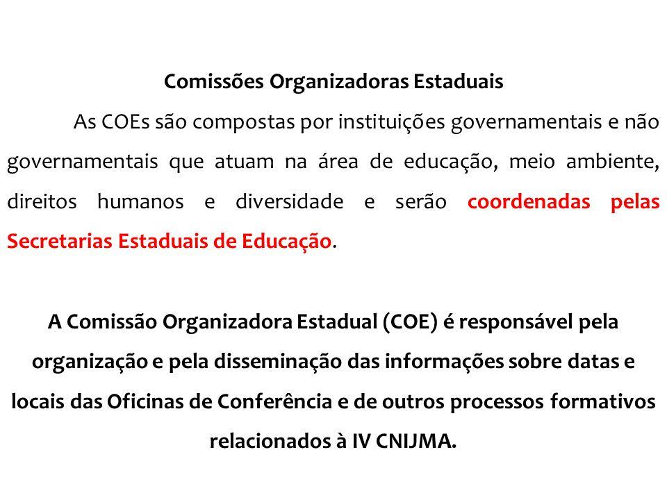 Comissões Organizadoras Estaduais