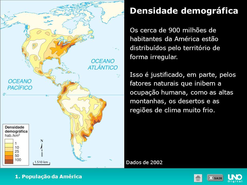 Densidade demográfica