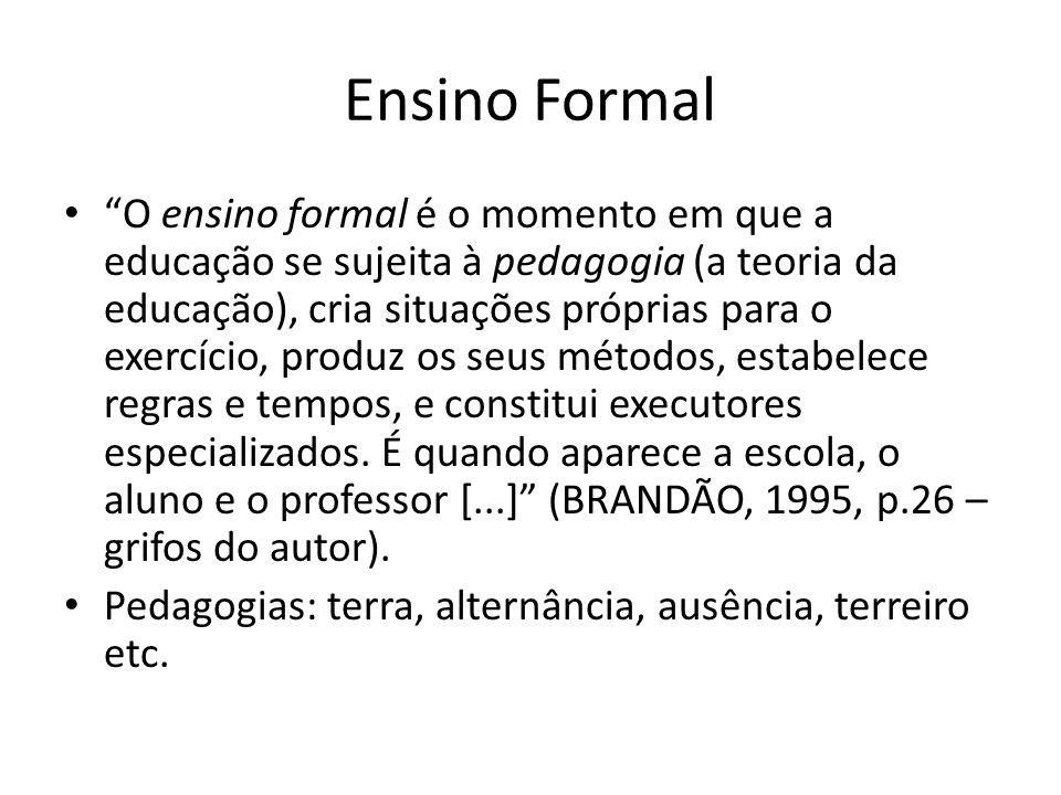 Ensino Formal