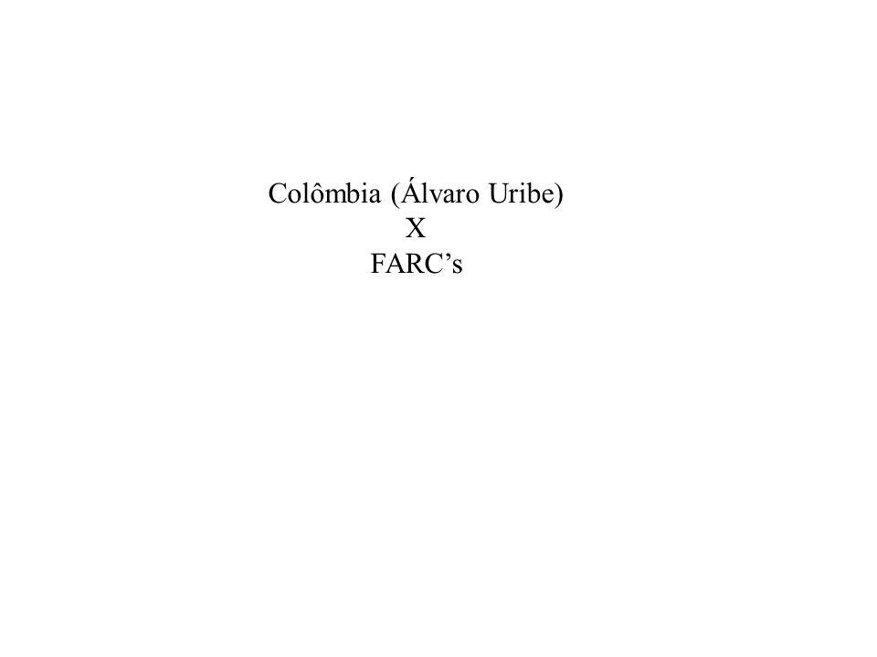 Colômbia (Álvaro Uribe)