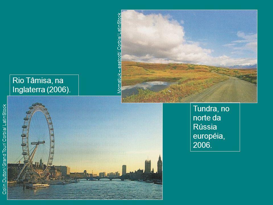 Rio Tâmisa, na Inglaterra (2006).