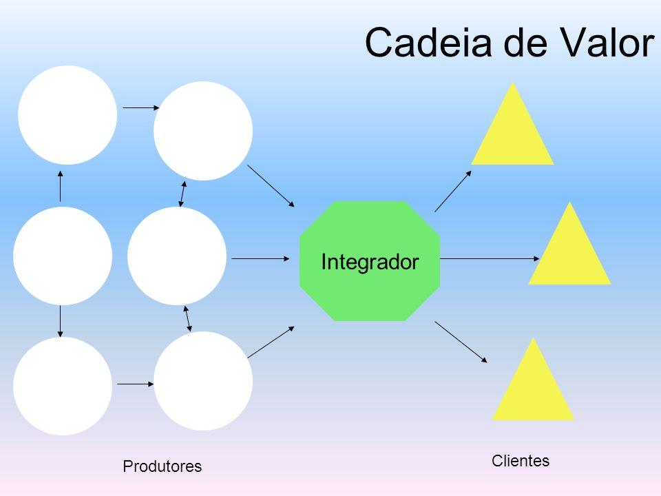 Cadeia de Valor Integrador Clientes Produtores