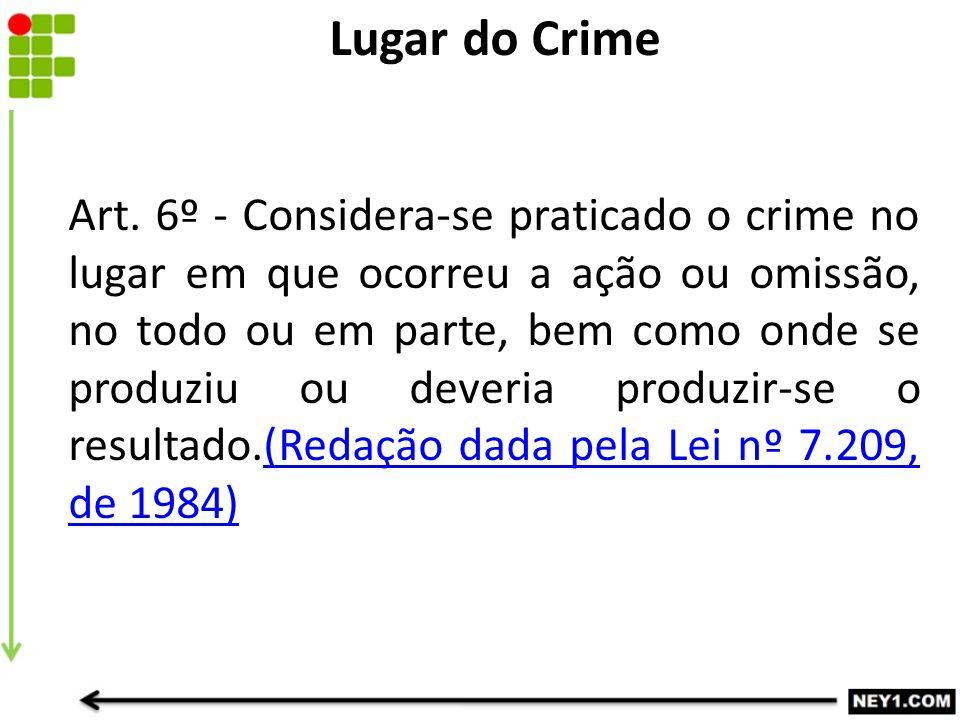 Lugar do Crime