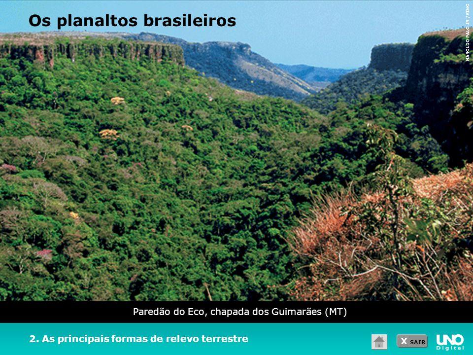 Paredão do Eco, chapada dos Guimarães (MT)