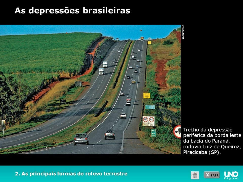 As depressões brasileiras