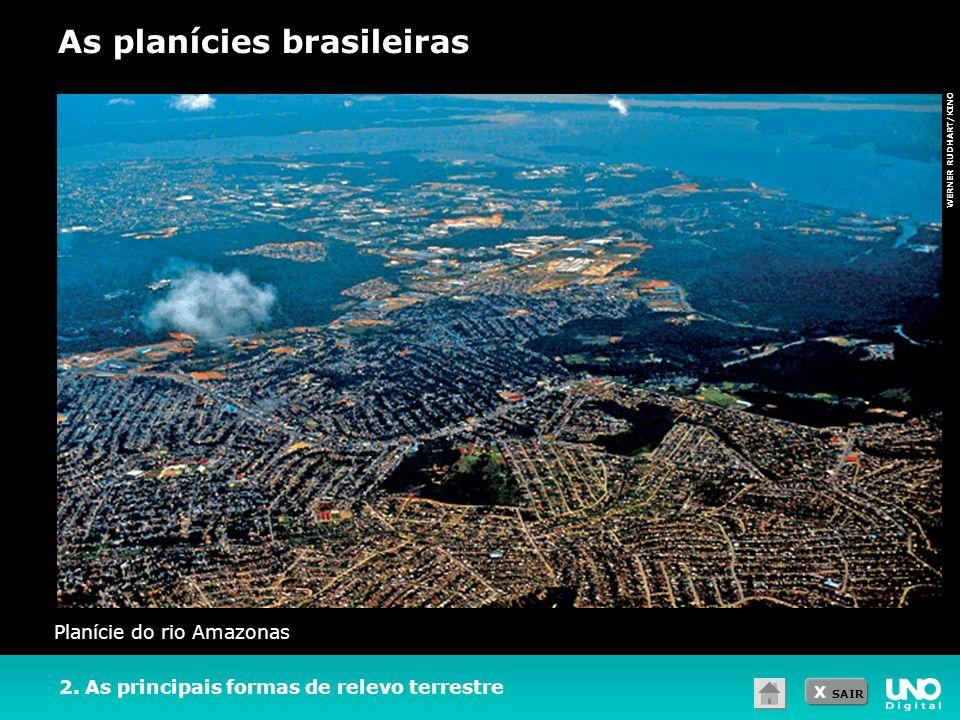 As planícies brasileiras