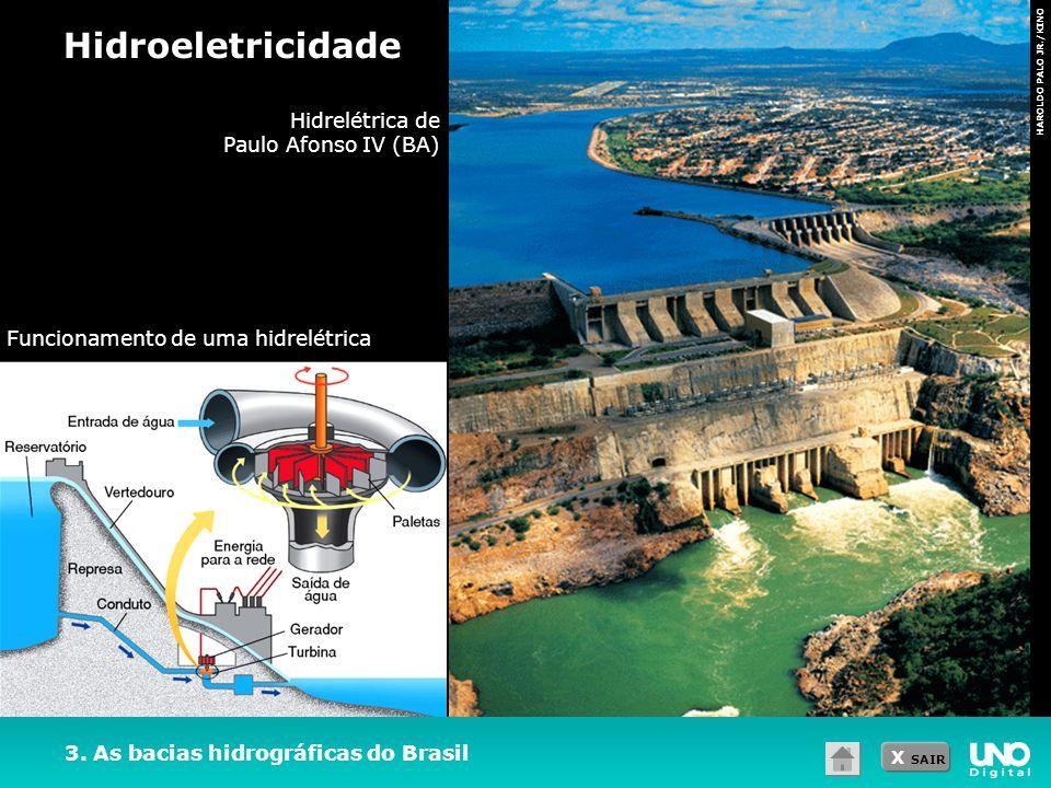 Hidroeletricidade Hidrelétrica de Paulo Afonso IV (BA)