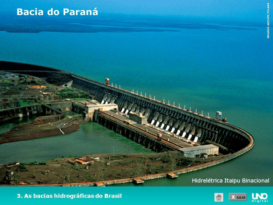 Bacia do Paraná Hidrelétrica Itaipu Binacional