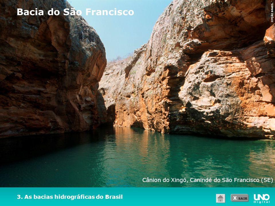 Bacia do São Francisco Cânion do Xingó, Canindé do São Francisco (SE)