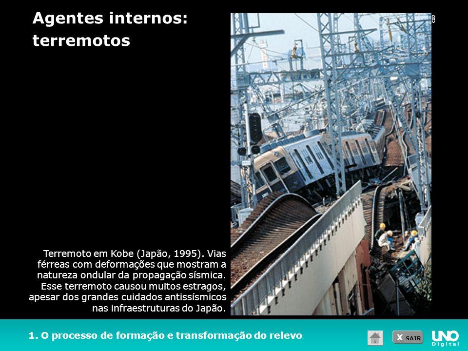 Agentes internos: terremotos