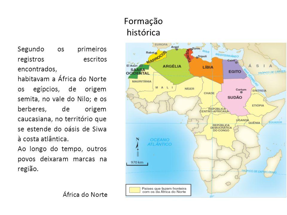 Formação histórica Segundo os primeiros registros escritos encontrados,