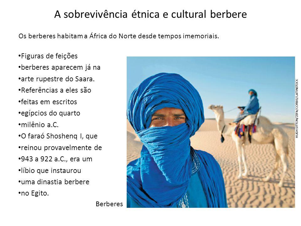 A sobrevivência étnica e cultural berbere