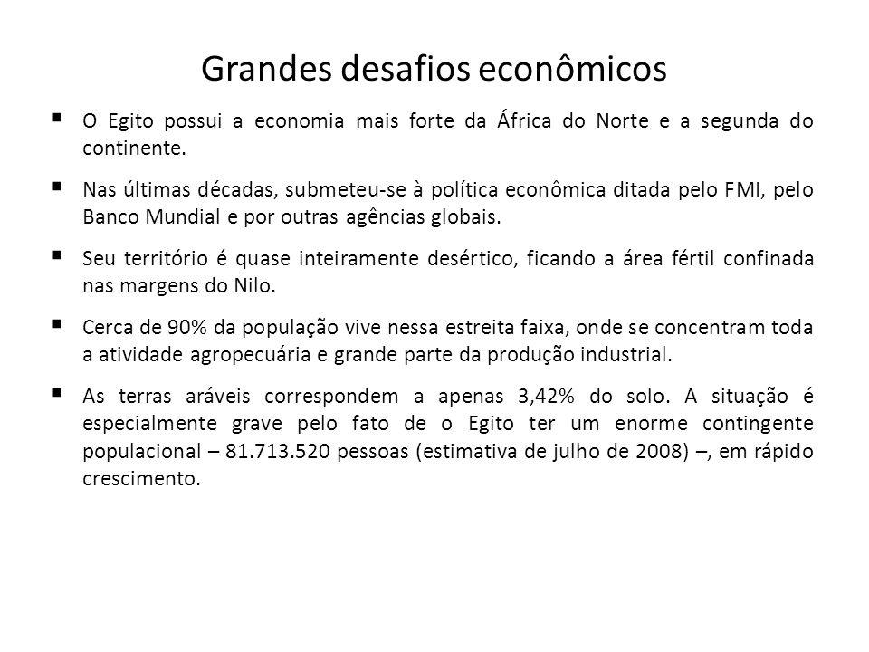 Grandes desafios econômicos