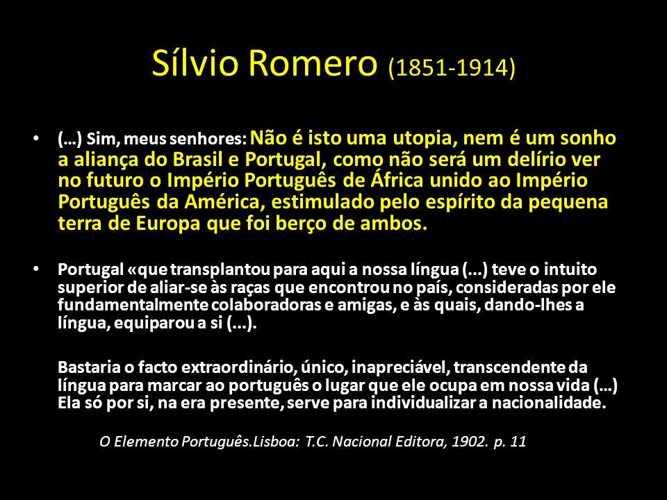 Sílvio Romero (1851-1914)