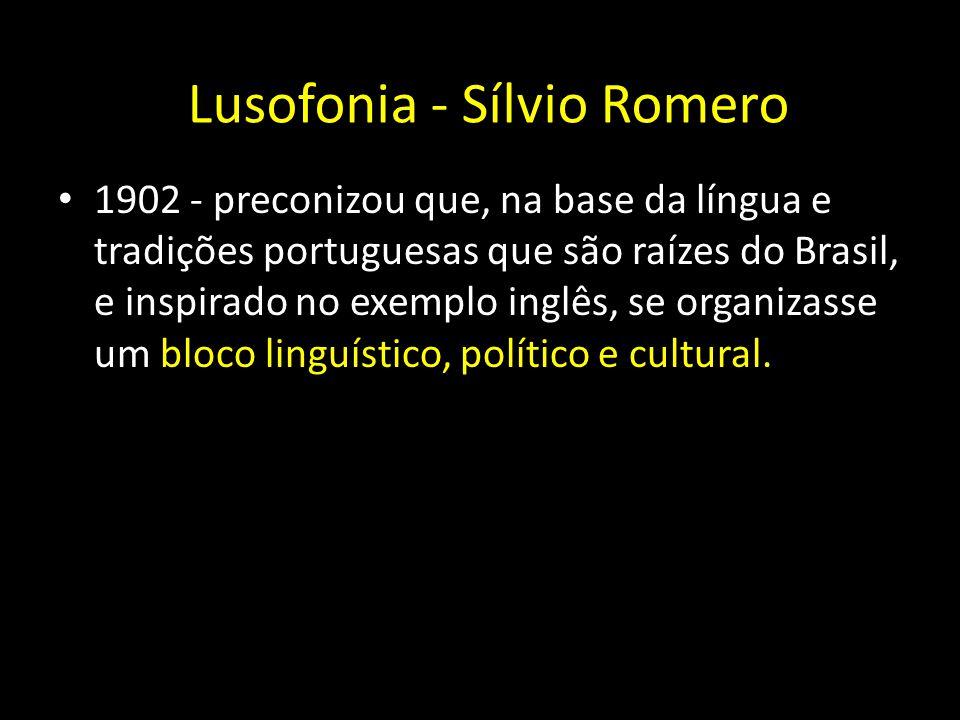 Lusofonia - Sílvio Romero