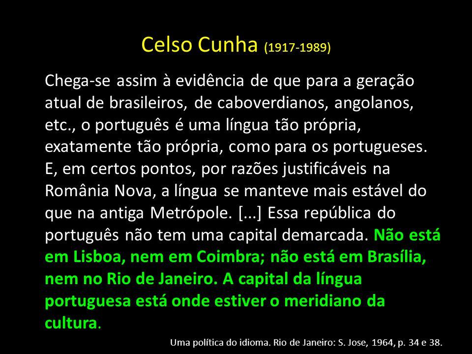Celso Cunha (1917-1989)