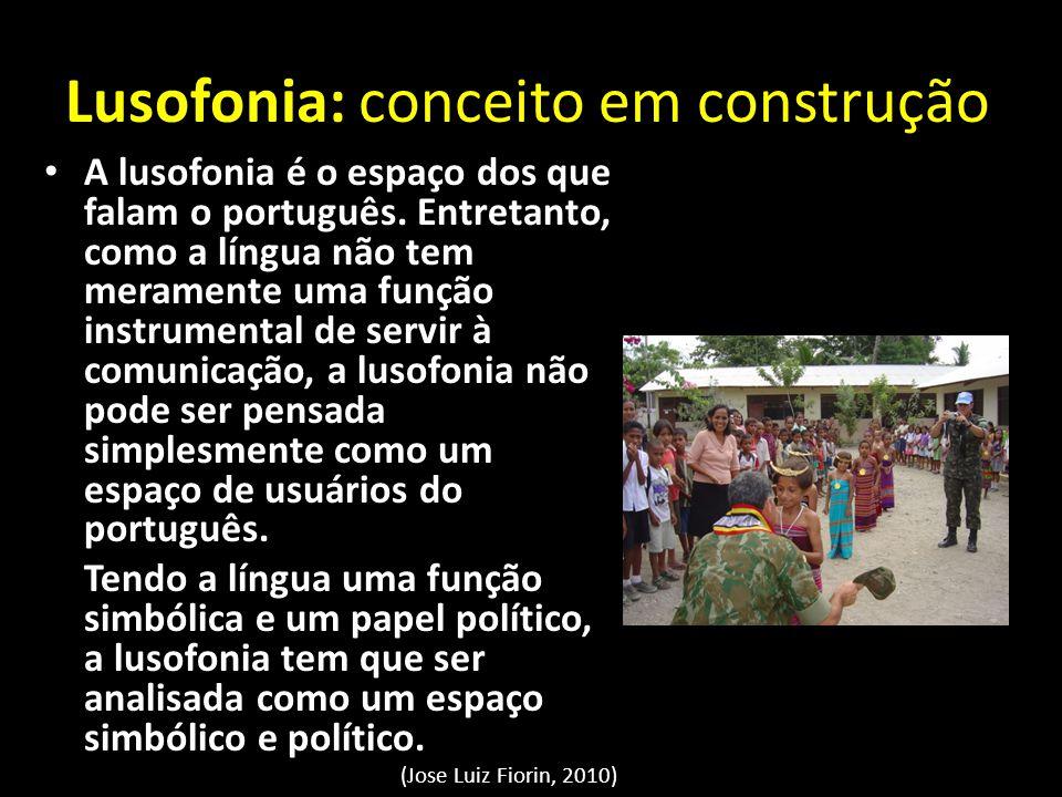 Lusofonia: conceito em construção