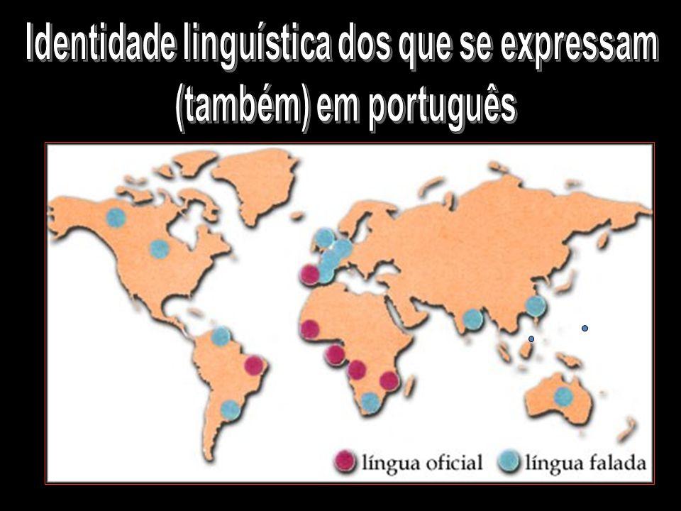 Identidade linguística dos que se expressam