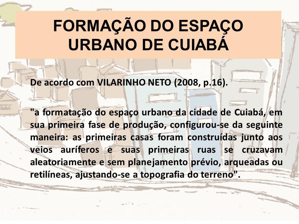 FORMAÇÃO DO ESPAÇO URBANO DE CUIABÁ