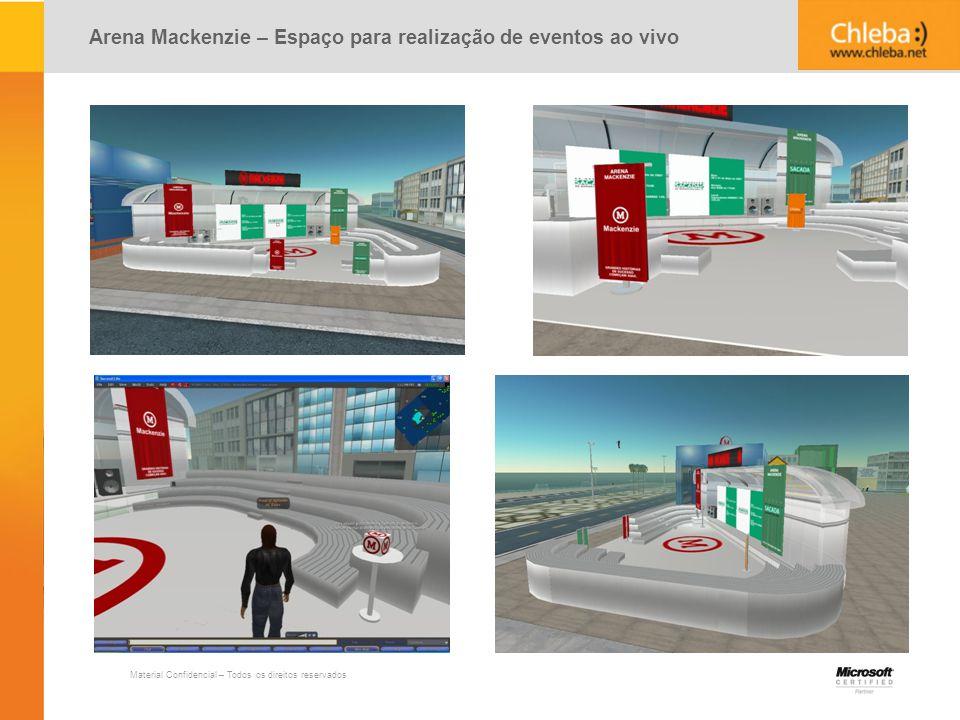 Arena Mackenzie – Espaço para realização de eventos ao vivo