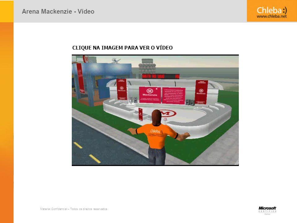 Arena Mackenzie - Vídeo