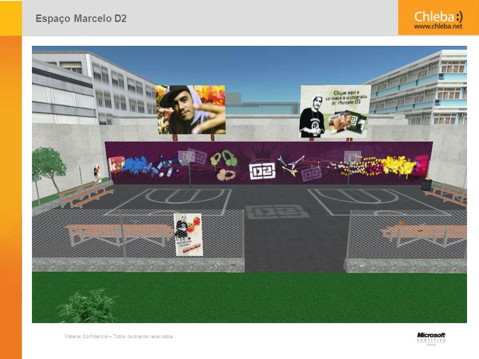 Espaço Marcelo D2 Material Confidencial – Todos os direitos reservados