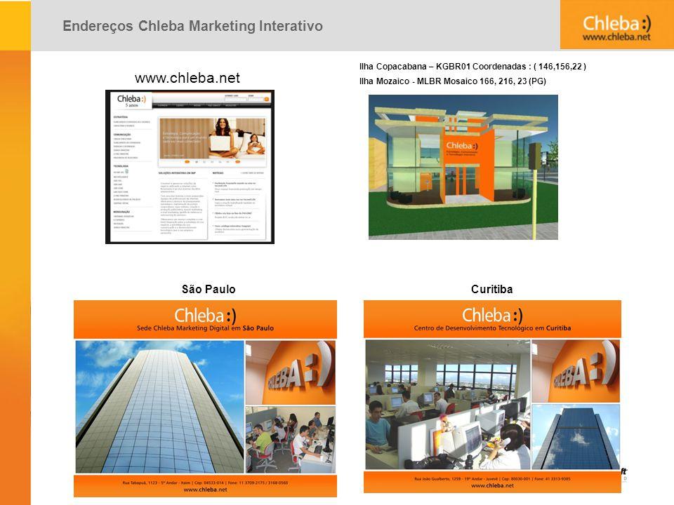 www.chleba.net Endereços Chleba Marketing Interativo São Paulo