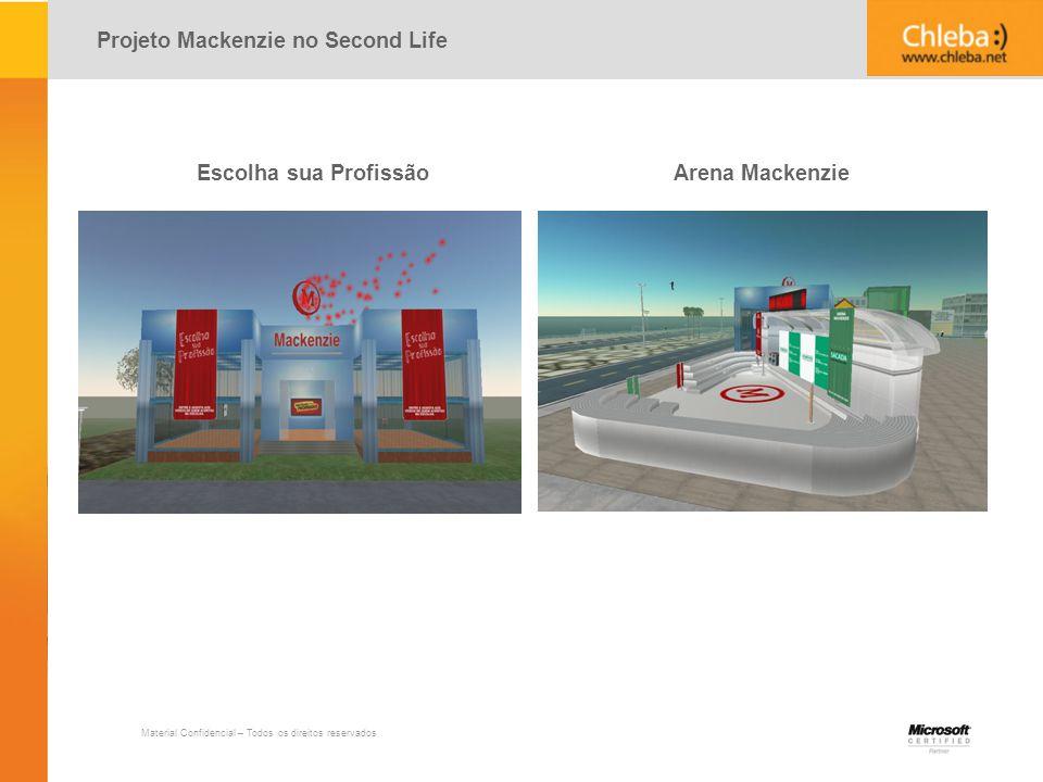 Projeto Mackenzie no Second Life