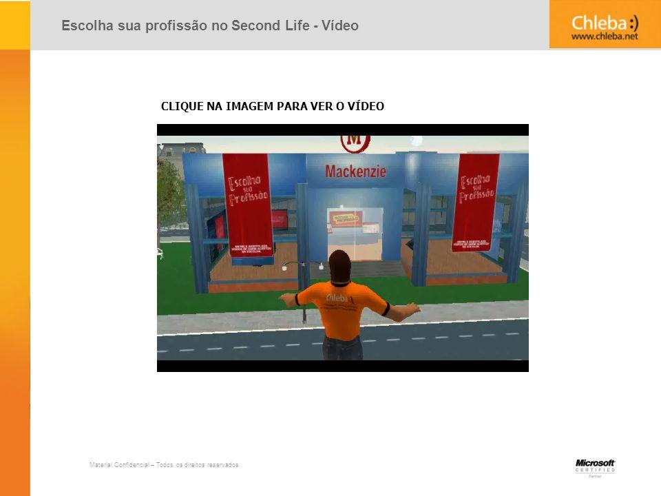 Escolha sua profissão no Second Life - Vídeo