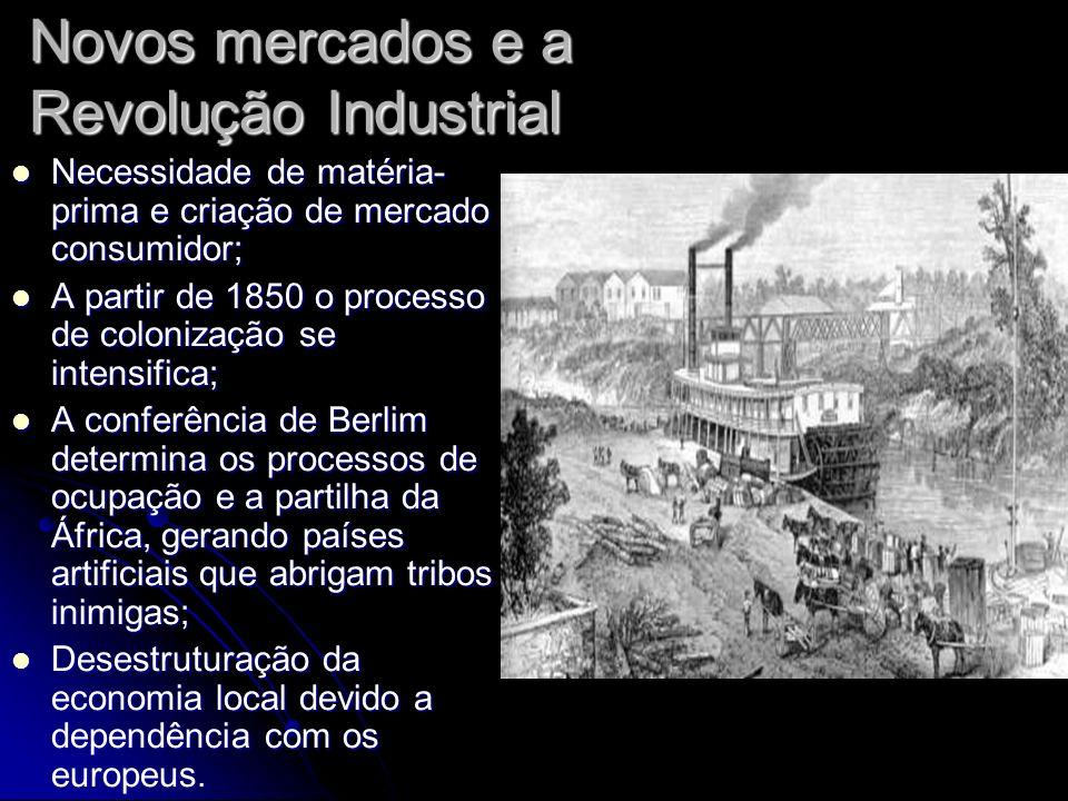 Novos mercados e a Revolução Industrial